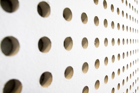 5775054 texture of dot on soundproof wall - How To Eliminate Echo In Room Or Office Space